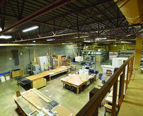 Millwork and cabinetry shop overview