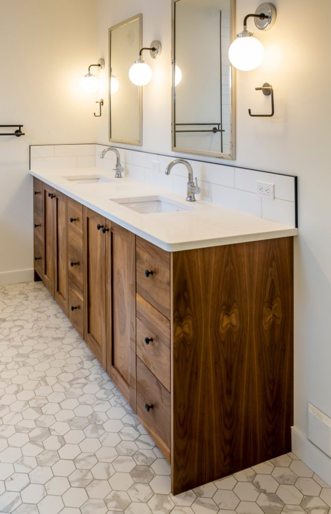 Excellent Custom Bathroom Millwork And Cabinetry In Edmonton Ab Beutiful Home Inspiration Semekurdistantinfo