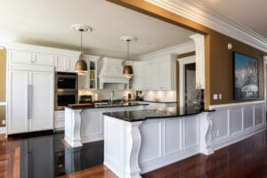 Custom Kitchen Renovation - Custom Cabinets in Edmonton and Millwork in Edmonton